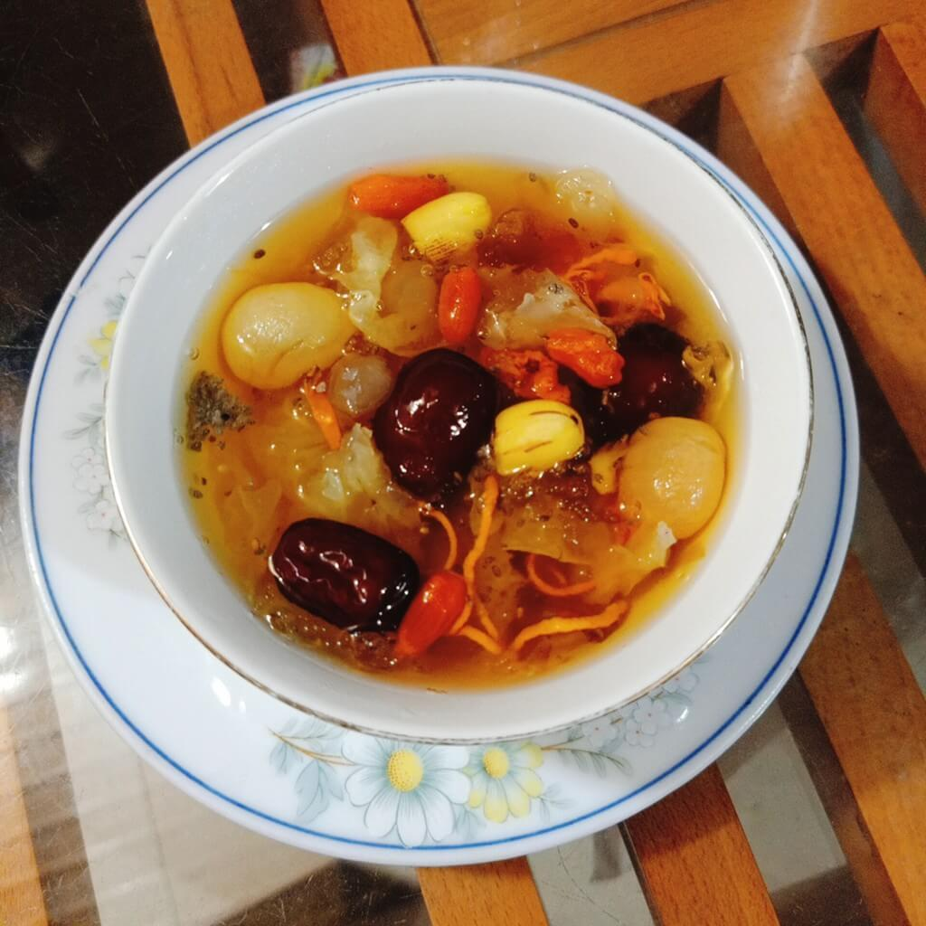 Cách nấu chè dưỡng nhan 10 vị