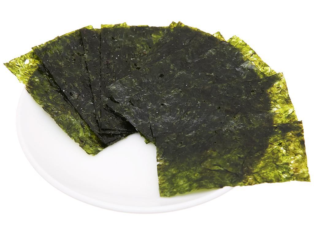 Rong biển hữu cơ ăn liền cho bé Alvins hộp 20g