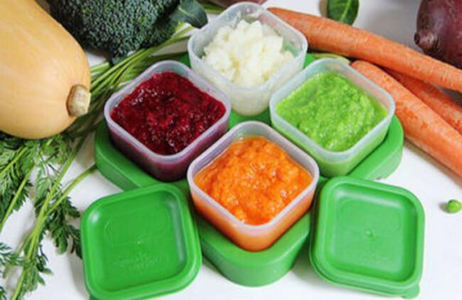 Thực đơn dinh dưỡng cho bé từ 6-8 tháng tuổi