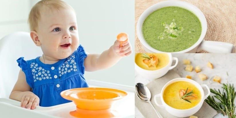Thực đơn hàng ngày bổ sung dinh dưỡng cho bé 6 tháng tuổi